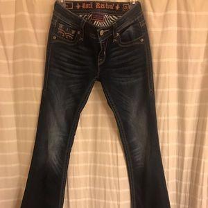 Rock Revival dark wash jeans